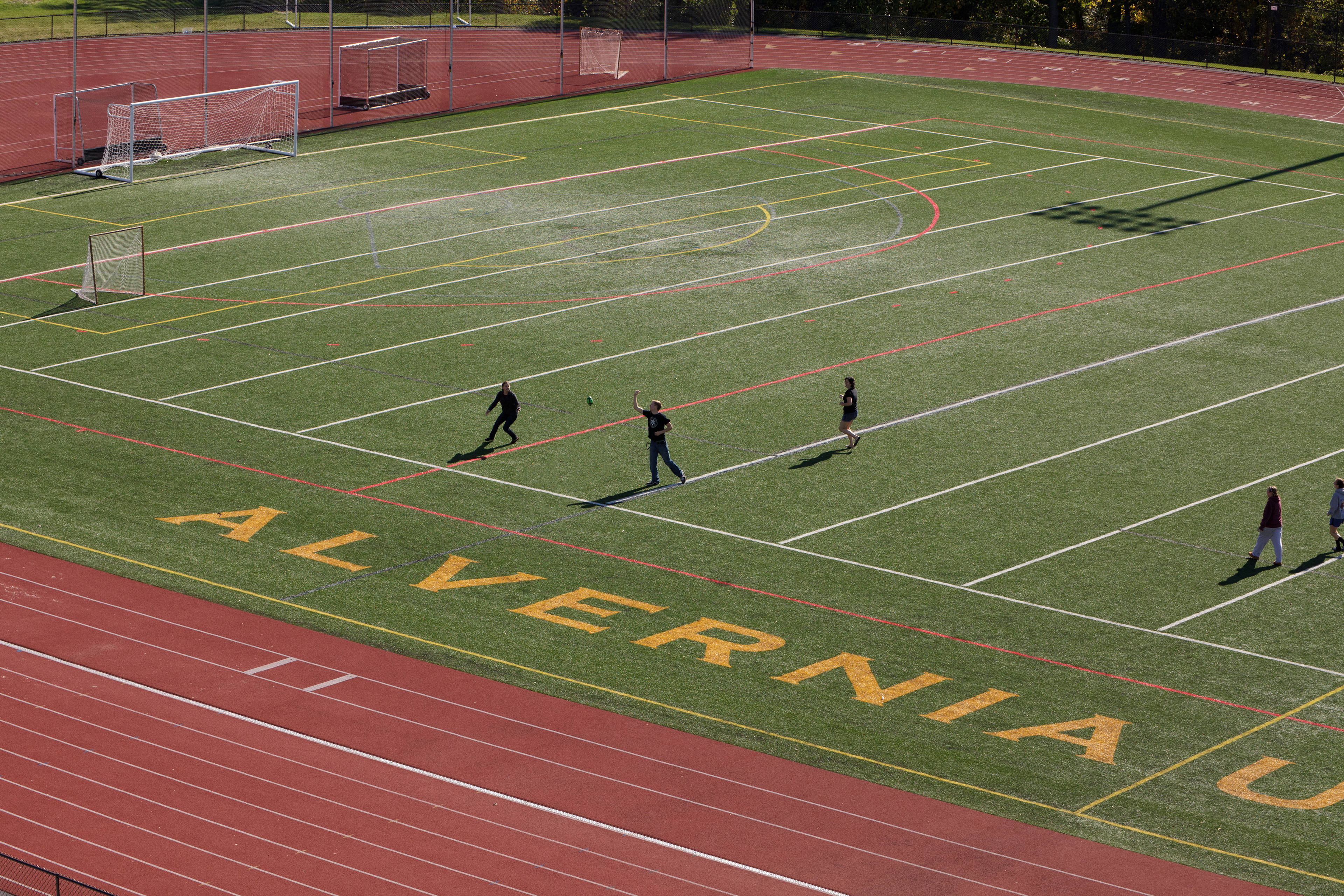 Athletic turf field