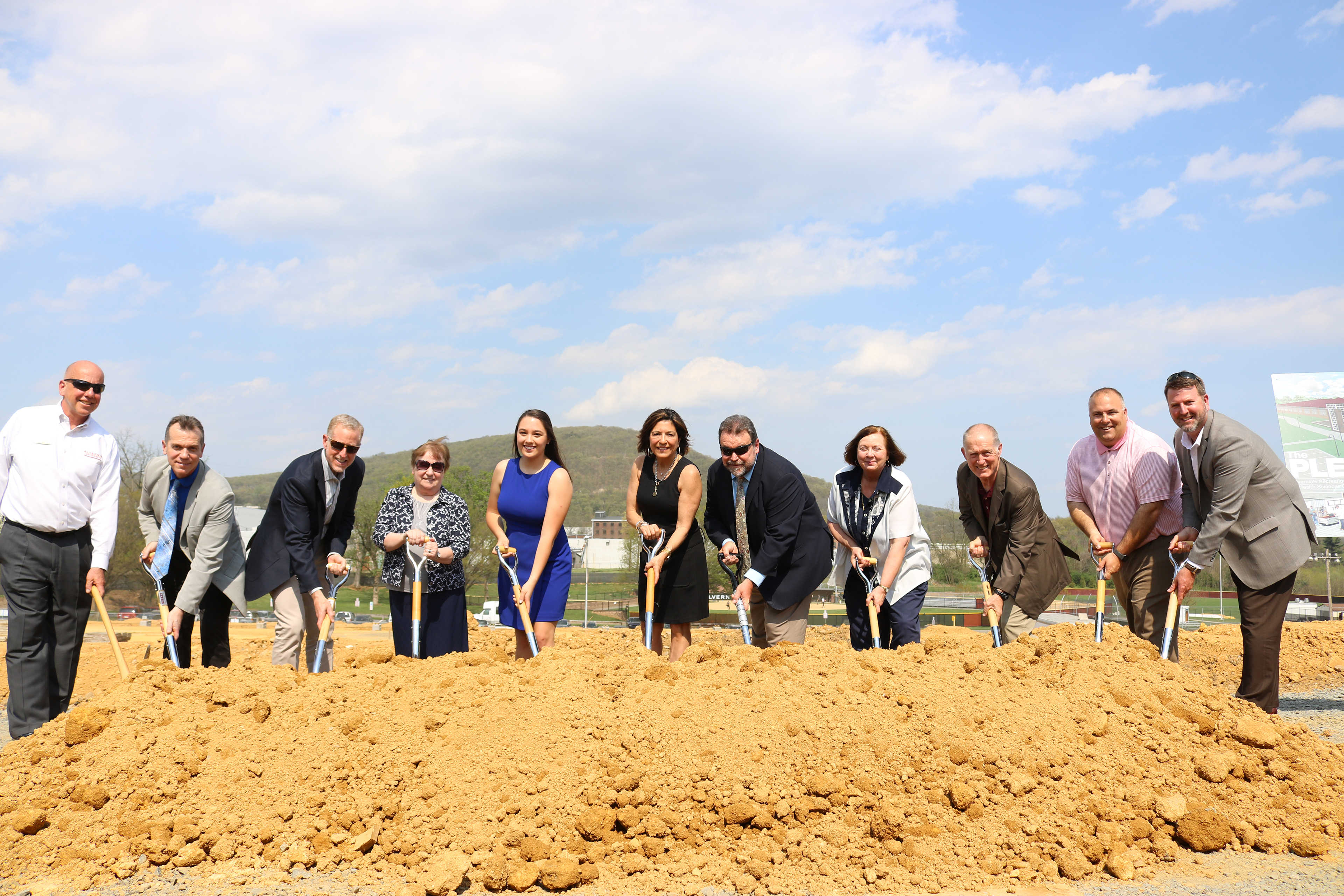 PLEX groundbreaking ceremony