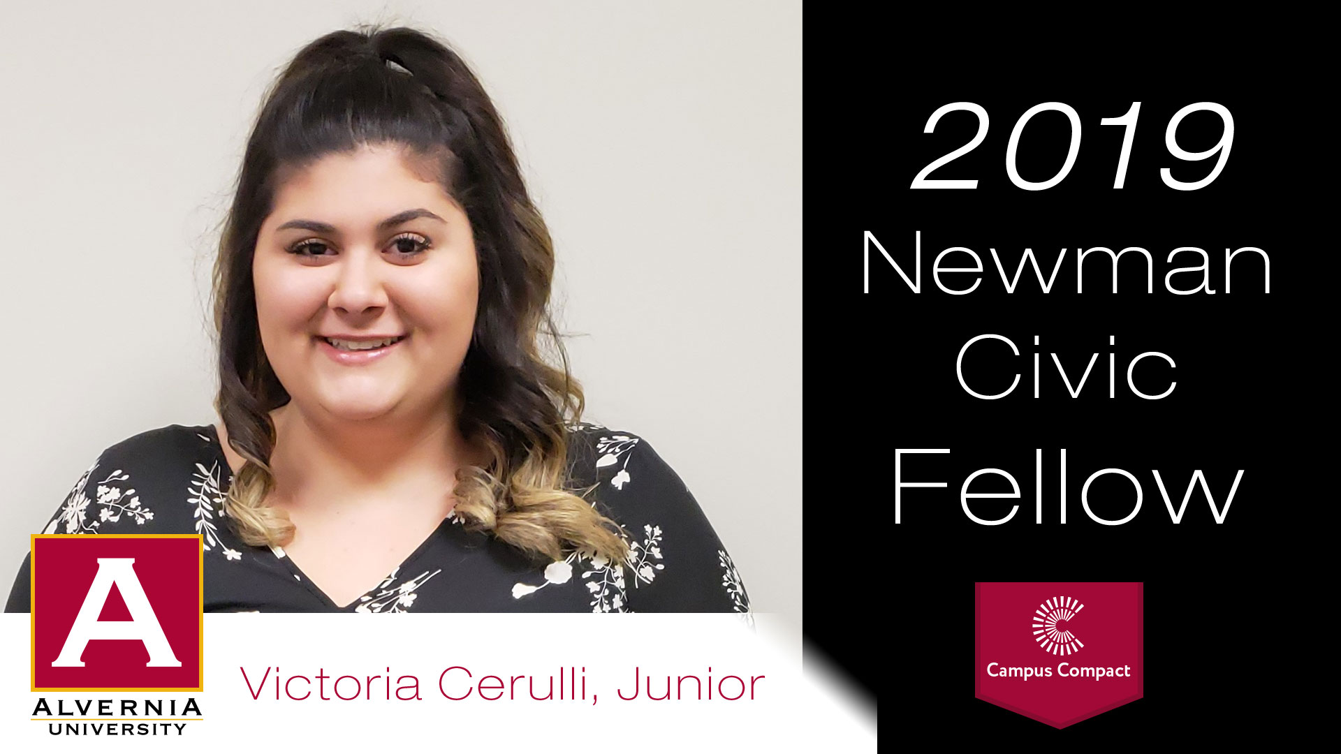 Victoria Cerulli Newman Civic Fellow