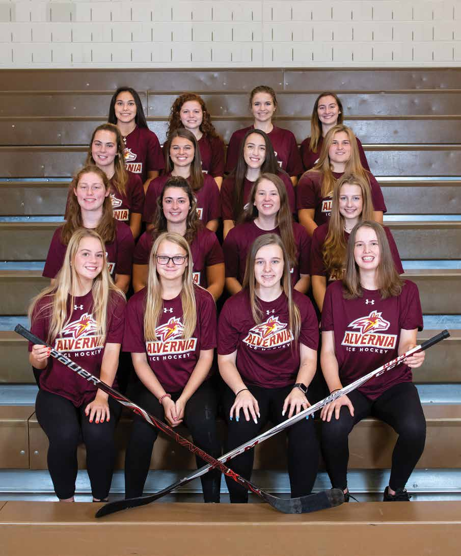 2019-20 Alvernia Women's Ice Hockey Team
