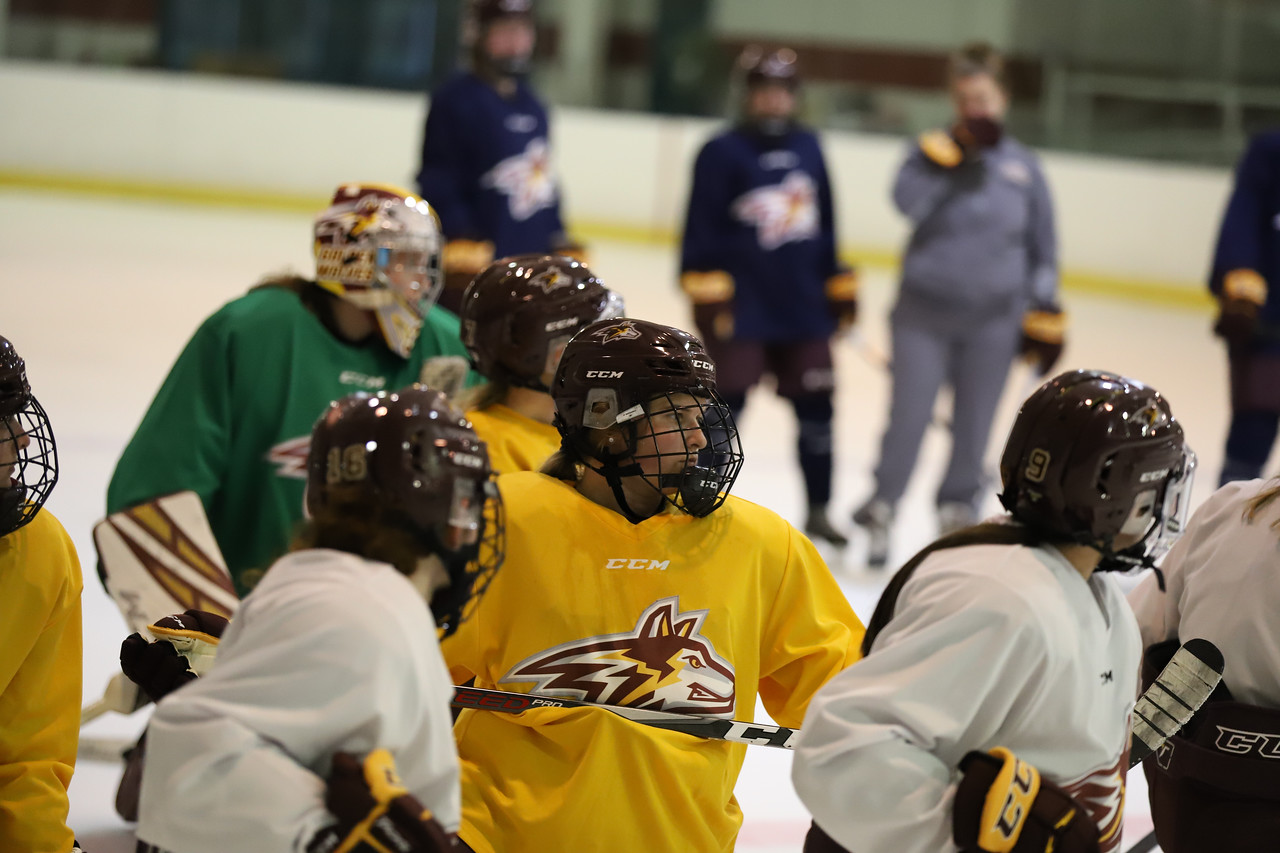 Alvernia University Women's Ice Hockey First Practice