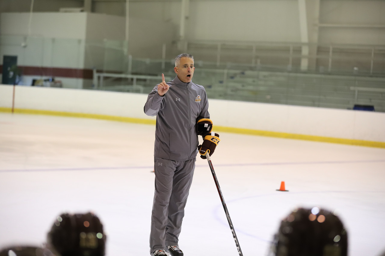 Alvernia Women's Ice Hockey Head Coach Josh Brandwene