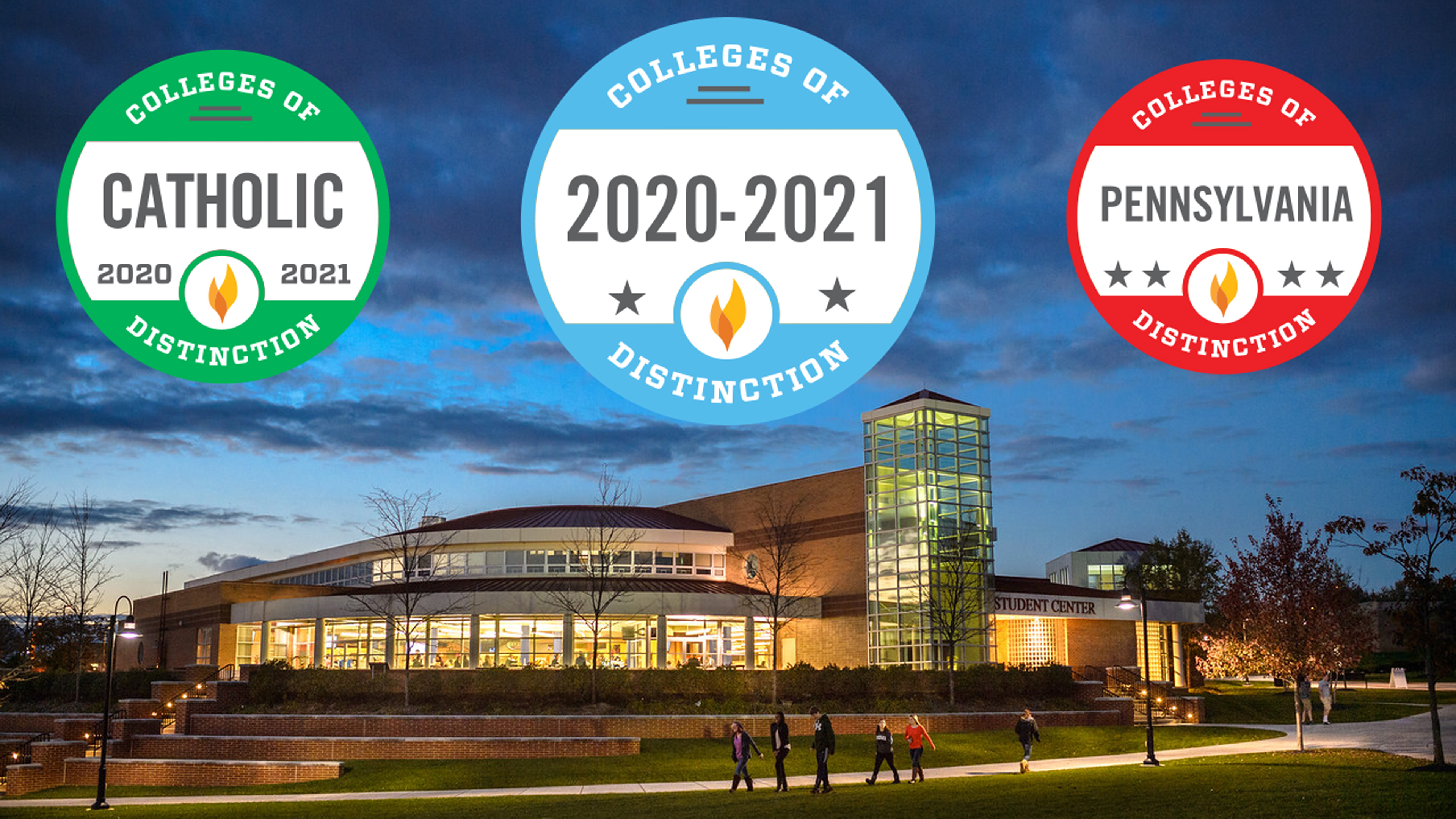 Alvernia Colleges of Distinction Award 2020