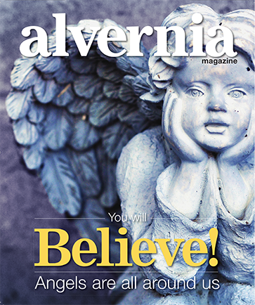 """You Will Believe, Angels are all around us"" magazine cover summer 2015"