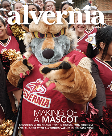"""Making of a Mascot"" magazine cover winter 2018"