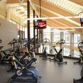 Campus Commons fitness cycles