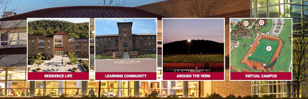Saint Francis University Campus Map.Virtual Map Alvernia University