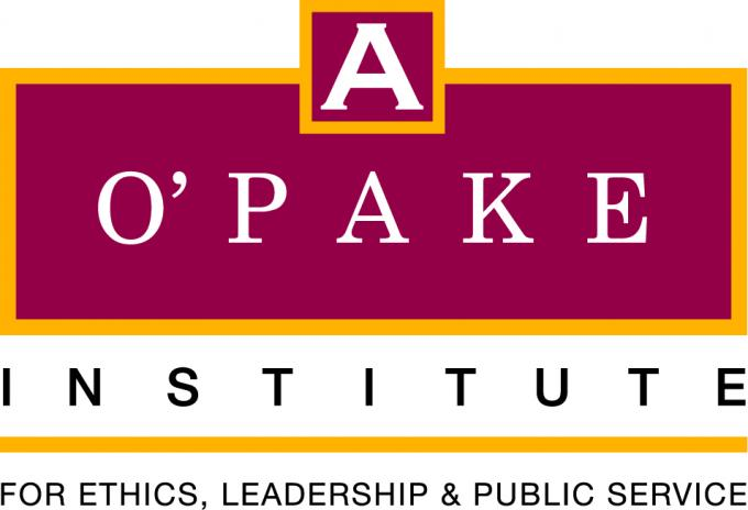 O'Pake Institute for Ethics, Leadership, and Public Service logo