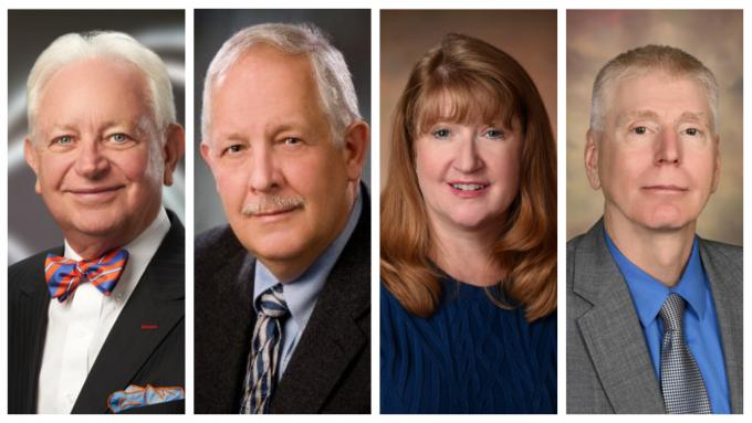 2019 Alvernia University President's Dinner Honorees