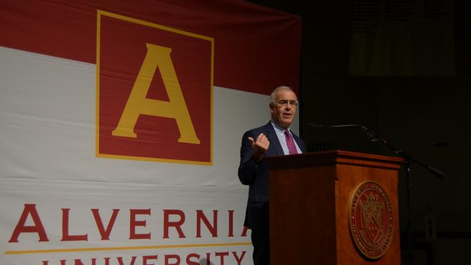 David Brooks Alvernia