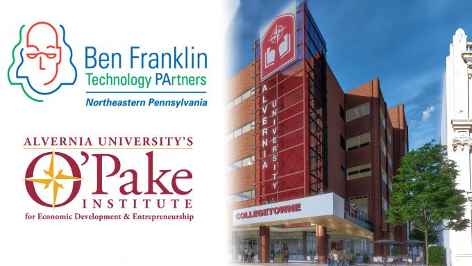 Alvernia University O'Pake Institute Partners with Ben Franklin Technology Partners