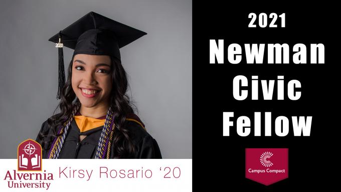 Kirsy Rosario Newman Civic Fellow 2021