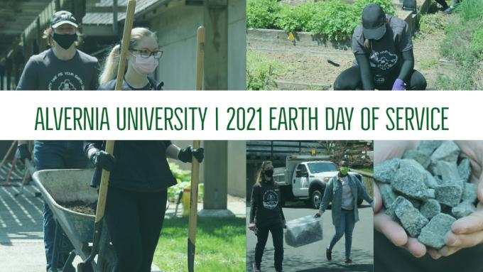 Alvernia University Earth Day of Service 2021