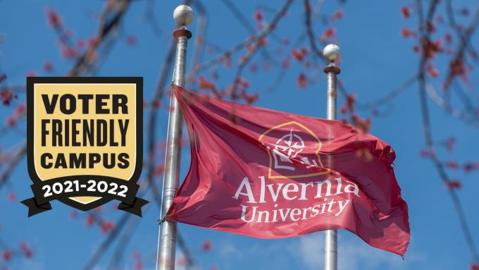Alvernia University Voter Friendly Campus 2021-22